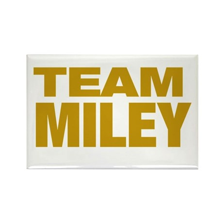 TEAM MILEY Rectangle Magnet