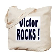 Victor Rocks ! Tote Bag
