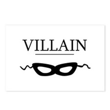 Villain Postcards (Package of 8)