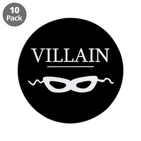 """Villain 3.5"""" Button (10 pack)"""