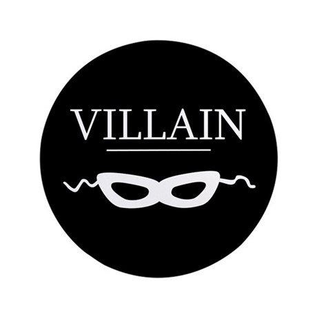 "Villain 3.5"" Button"
