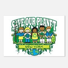 Earth Kids New York Postcards (Package of 8)