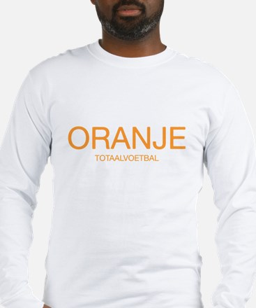 Oranje: Total Football Long Sleeve T-Shirt