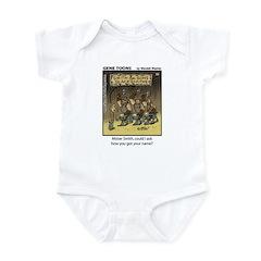 #59 Got your name Infant Bodysuit