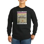 #61 Book on genealogy Long Sleeve Dark T-Shirt