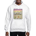 #61 Book on genealogy Hooded Sweatshirt