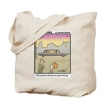 #61 Book on genealogy Tote Bag