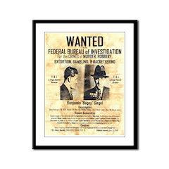 Benny Siegel Framed Panel Print