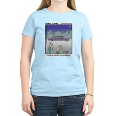 #64 Website on genealogy T-Shirt
