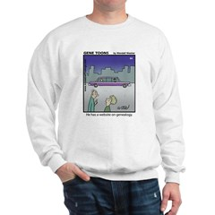 #64 Website on genealogy Sweatshirt