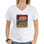 #65 Maps can be useful Women's V-Neck T-Shirt