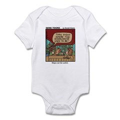 #65 Maps can be useful Infant Bodysuit
