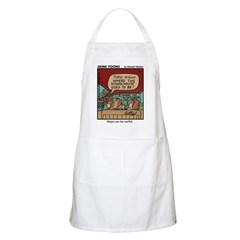 #65 Maps can be useful BBQ Apron