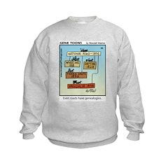 #66 Roads genealogy Sweatshirt