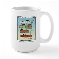 #66 Roads genealogy Mug
