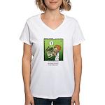 #68 He could understand Women's V-Neck T-Shirt