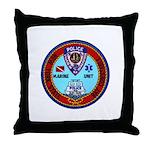 Mamaroneck Harbor Police Throw Pillow