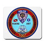 Mamaroneck Harbor Police Mousepad