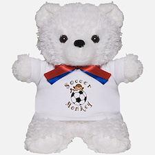 Soccer Monkey Teddy Bear