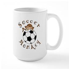 Soccer Monkey Mug