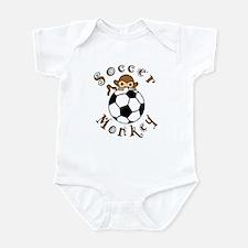 Soccer Monkey Infant Bodysuit