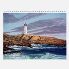 Favorite Lighthouses Art Wall Calendar 2017