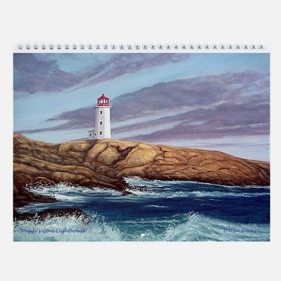 Favorite Lighthouses Art Wall Calendar 2017