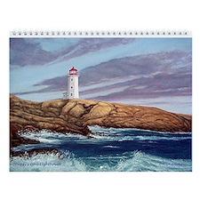 Peggy's Cove Lighthouse Wall Calendar