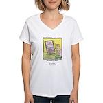 #75 300 photos Women's V-Neck T-Shirt