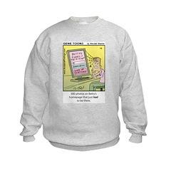 #75 300 photos Sweatshirt
