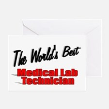 """ The World's Best Medical Lab Technician"" Greetin"