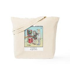 #78 Virus Tote Bag