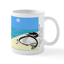 Kicking dead whales Small Mug