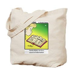 #80 Family Bibles Tote Bag