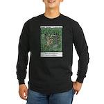 #83 Overgrown Long Sleeve Dark T-Shirt