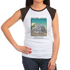 #84 Epitaphs Women's Cap Sleeve T-Shirt