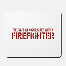 Feel Safe With A Firefighter Mousepad