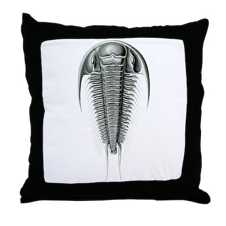 Trilobite Throw Pillow