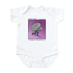 #85 Taking in the trash Infant Bodysuit