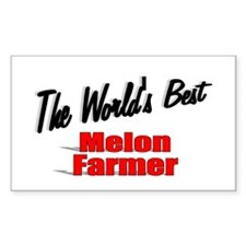 """The World's Best Melon Farmer"" Decal"