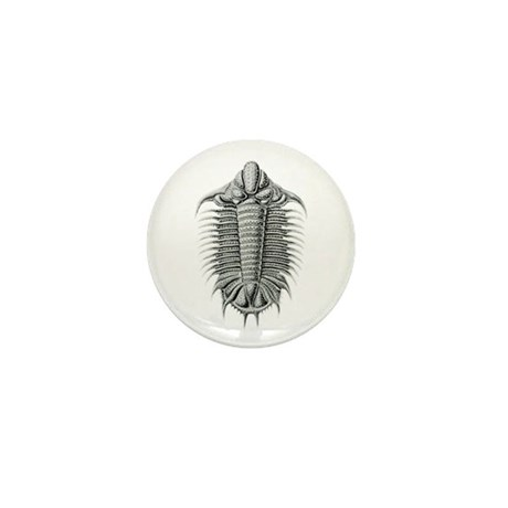Trilobite Mini Button