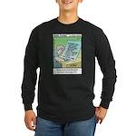 #86 How you think Long Sleeve Dark T-Shirt