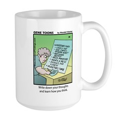 #86 How you think Mug