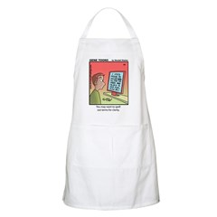 #89 Spell out terms BBQ Apron