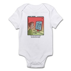 #89 Spell out terms Infant Bodysuit