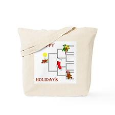Genealogy Christmas Tote Bag