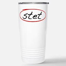 Stet Stainless Steel Travel Mug