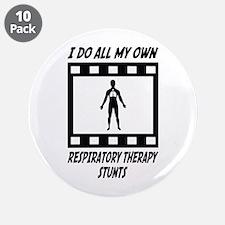 "Respiratory Therapy Stunts 3.5"" Button (10 pa"