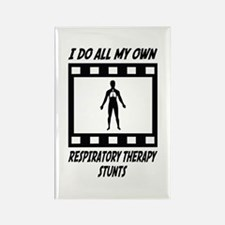 Respiratory Therapy Stunts Rectangle Magnet