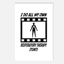 Respiratory Therapy Stunts Postcards (Package of 8